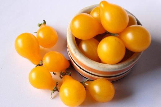จำหน่ายเมล็ดพันธุ์มะเขือเทศลูกแพร์สีเหลือง